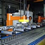 Linia do paletyzacji korytek kablowych